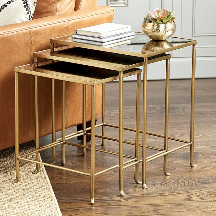 Madeline Nesting Tables Set Of 3 Nesting Tables Decor Coffee Table Design