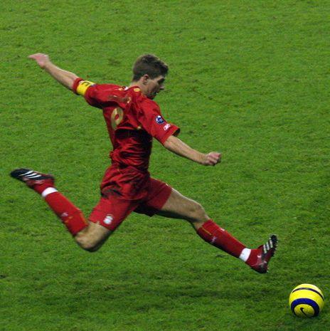 Steven Gerrard Short Biography history-of-soccer.org
