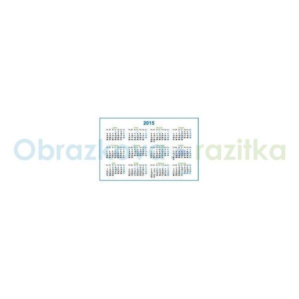Kapesní kalendář 2015 ilustrace - Kreativni-tvoreni.cz