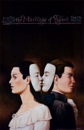 The Marriage of Figaro by Rafal Olbinski