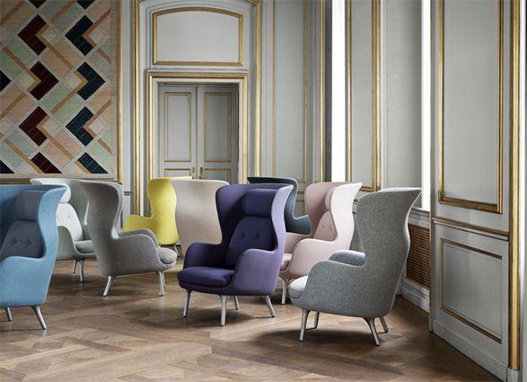 Fritz Hansen Ro Lounge Chair collection