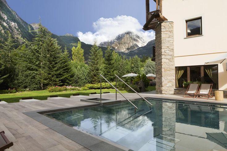 QC Terme sul Monte Bianco, semplicemente spettacolari! #qcterme #montebianco #terme #relax #giampaoloscacchi