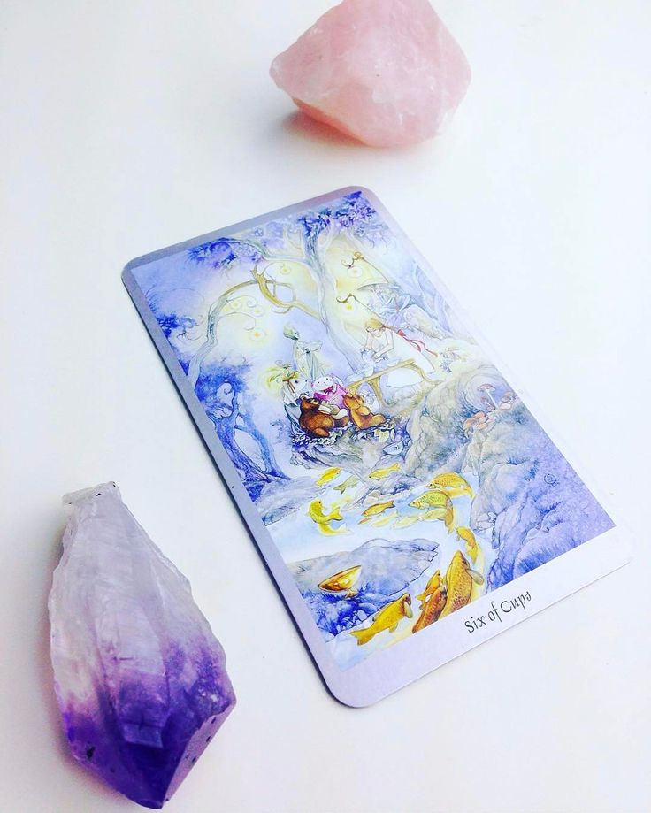 Daily #Tarot Reading for February 15: Six of Cups When we are reminded of the #free #innocent #joy of #childhood or we #reunite with someone who evokes those #feelings inside us we encounter the energy of the Six of Cups. It's time to put away adult-ish things and #play today! You may be taking a trip down #memorylane or you could be trying to #escape into #thepast as an antidote to present turmoil. It's likely that you'll receive a message or visit from someone from your past now someone…