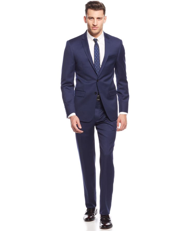 DKNY New Navy Chino Extra Slim-Fit Suit | Macy's .com $325 retail & 259 after coupon (15-20%) before tax.