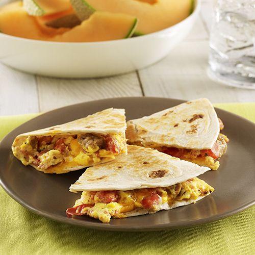Las 25 mejores ideas sobre quesadilla de desayuno en for Almuerzos faciles caseros