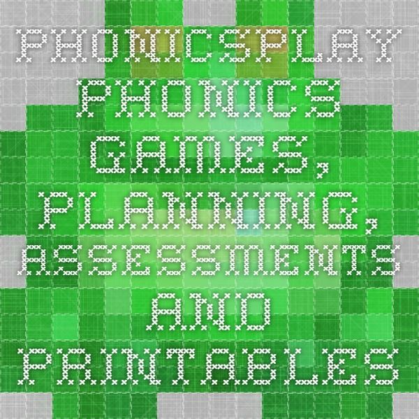 PhonicsPlay - Phonics games, planning, assessments and printables
