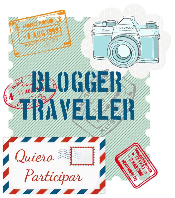 Formulario de inscripción #BloggerTraveller