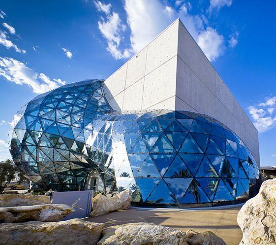 Dali's museum in Florida.