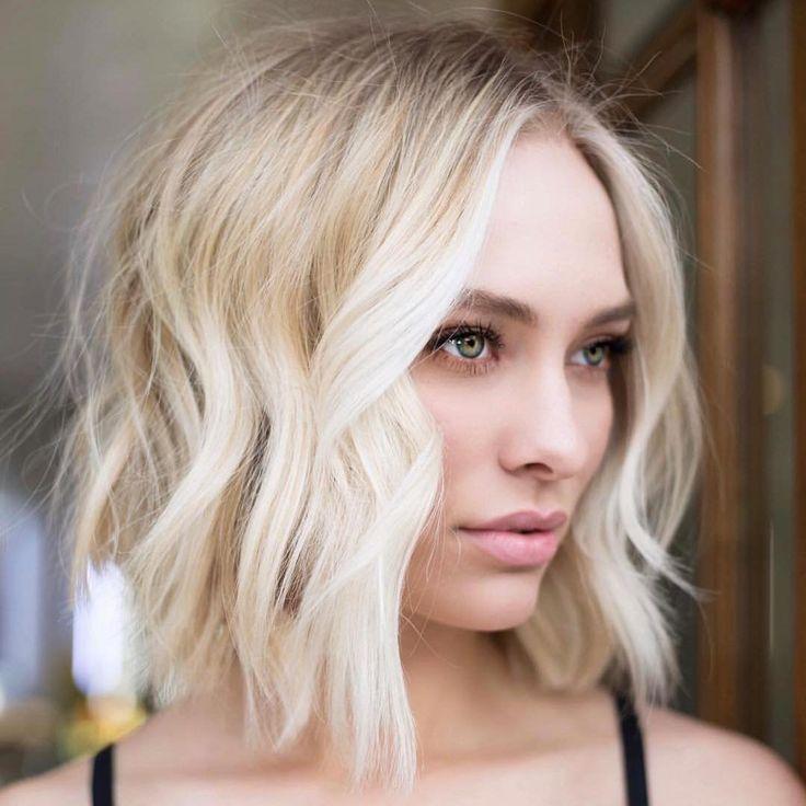Medium Length Hairstyles For Thin Hair   Oval face ...