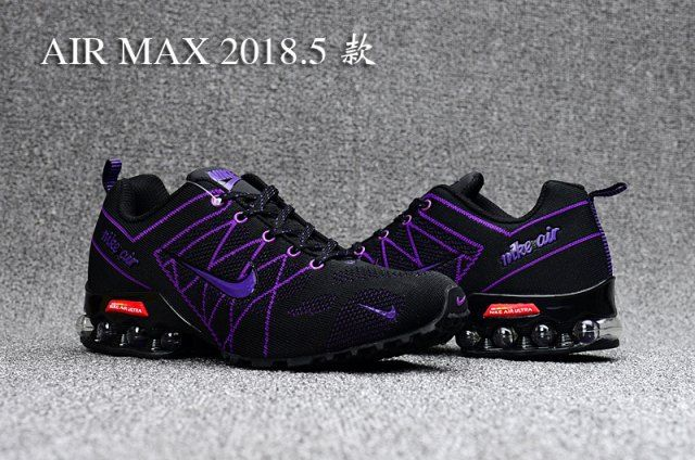c16b0494adc3 Nike Air Ultra Max 2018. 5 Shox Purple Black Womens Running Shoes ...