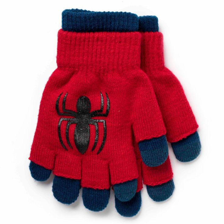 Boys' Spiderman Glove - Red One Size