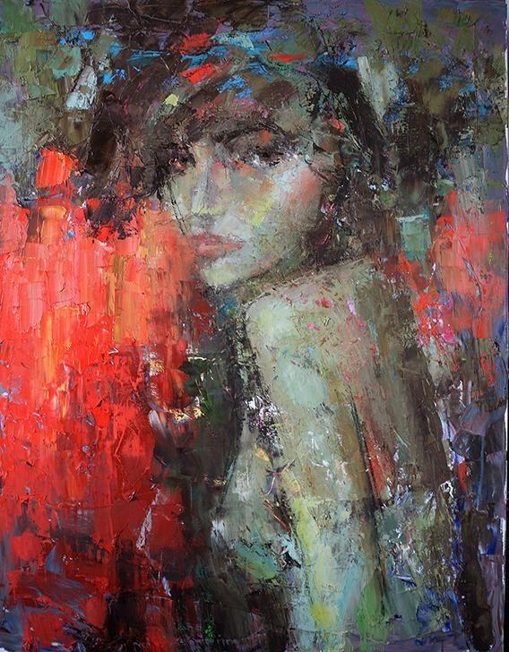 Julia Klimova - Deep Night 40x30 [SOLD]