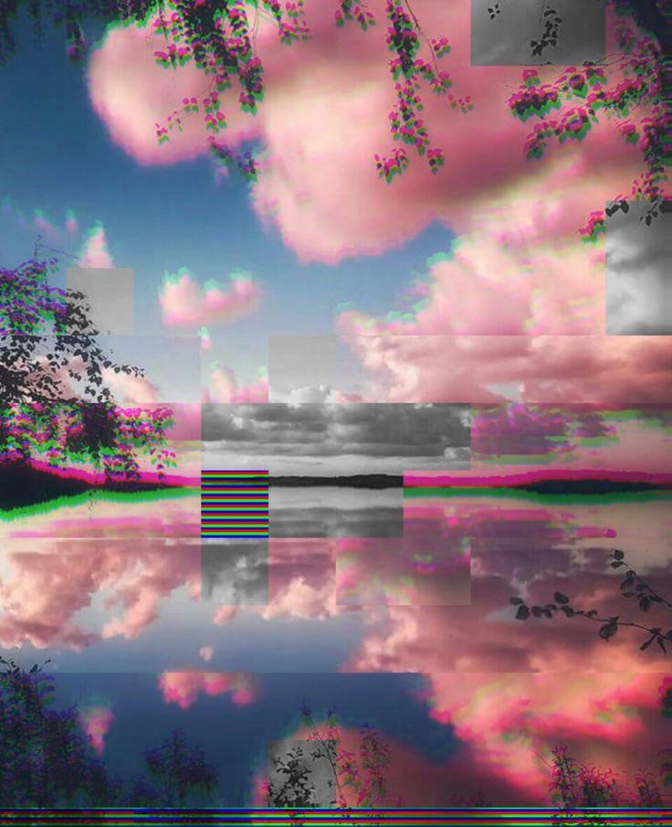 @effinkqueen   Aesthetic art, Vaporwave aesthetic, Glitch art