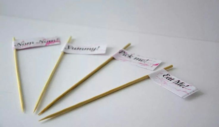 Food sticks,  other sayings available too