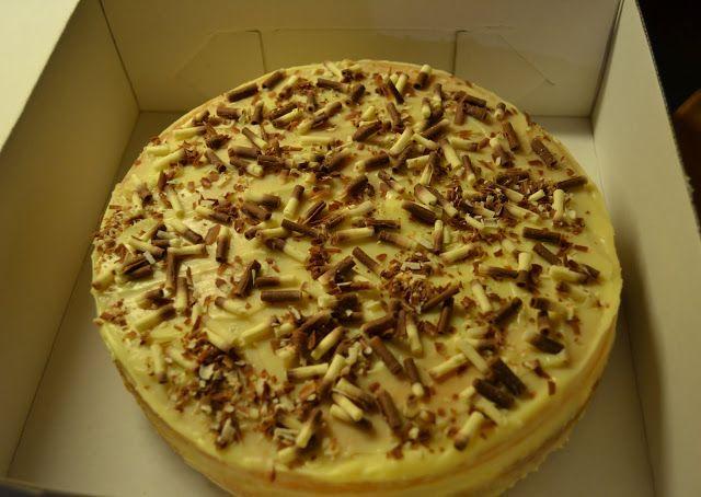 ...my little world: Banánová torta