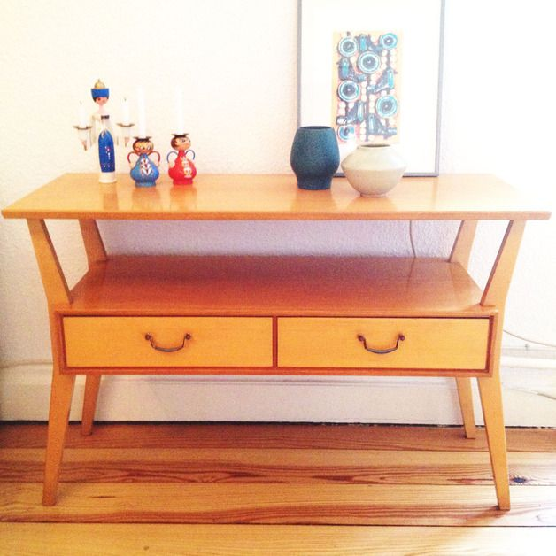 Cute mid century Regal mit Schubladen