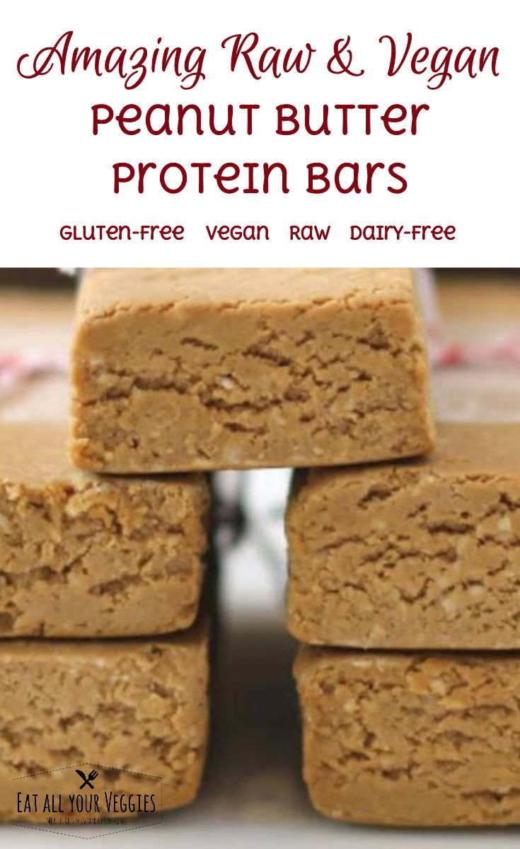 These are great for a Pick me up. You can pack them in lunches or in  your backpack for a hike. They are raw peanut butter with chocolate  brown rice protein. You get 12 bars
