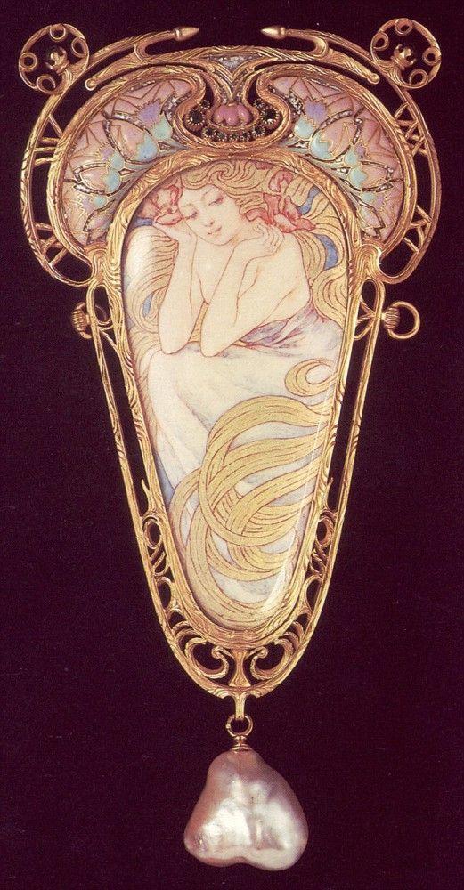 Ювелирное искусство эпохи модерн. Жорж Фуке (1862 -1957) - Редкие заметы немолодого идеалиста