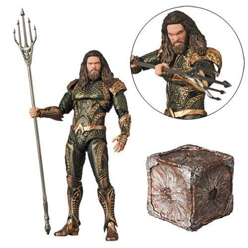 Medicom Justice League Aquaman Maf Ex Action Figure