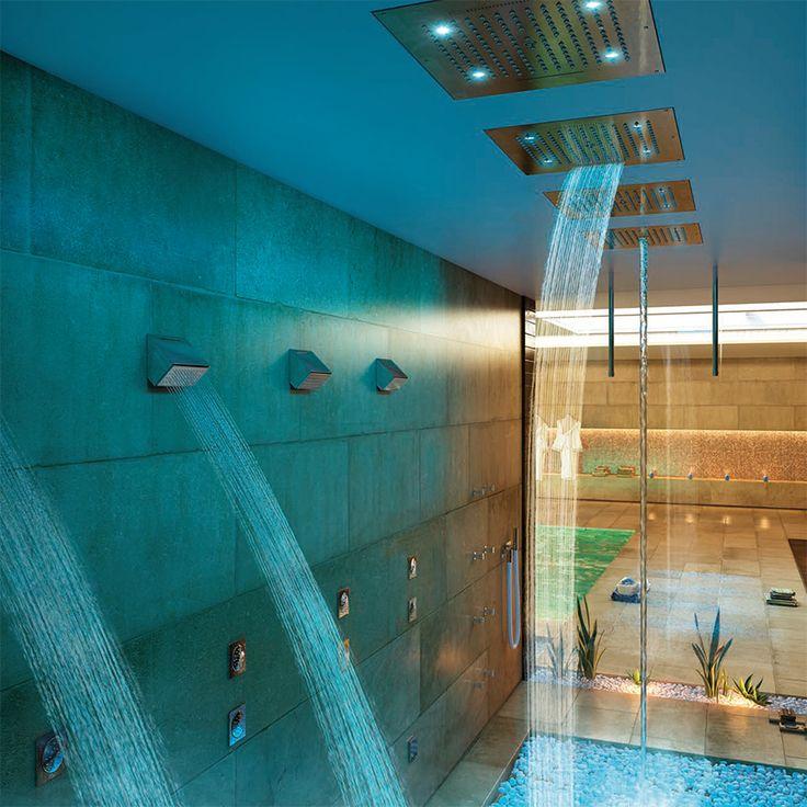 #Bossini è sinonimo di qualità in Italia, in Europa e in tutto il mondo. Produce #docce ed accessori dal 1960 con la consapevolezza che anche un semplice gesto quotidiano, come l'utilizzo della #doccia, nasconde un intero mondo di valori: funzionali, estetici, tecnicie umani. www.gasparinionline.it - #italiandesign #luxury #home #bagno #interiors #inspire #style #bathroom #shower