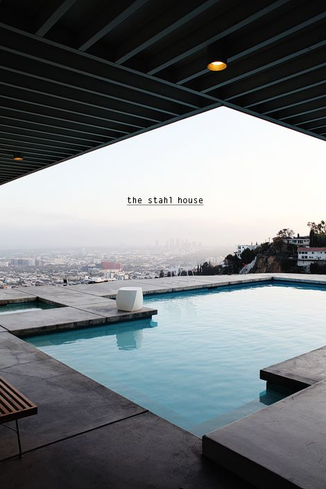 Best 25 modern pool house ideas on pinterest modern - Stahl swimmingpool ...