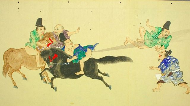 Japanese fart scrolls prove that human art peaked centuries ago---- and also reminded me that I have the sense of humor of a third grade boy.