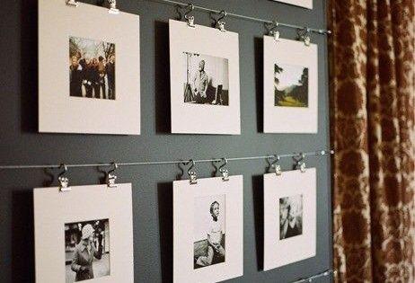写真のおしゃれな壁への飾り方♪インテリアとして活用するアイデア11選