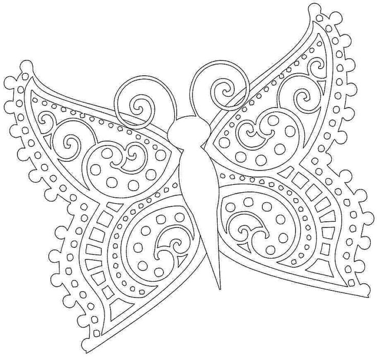 13 best Butterfly Coloring Pages images on Pinterest  Animal