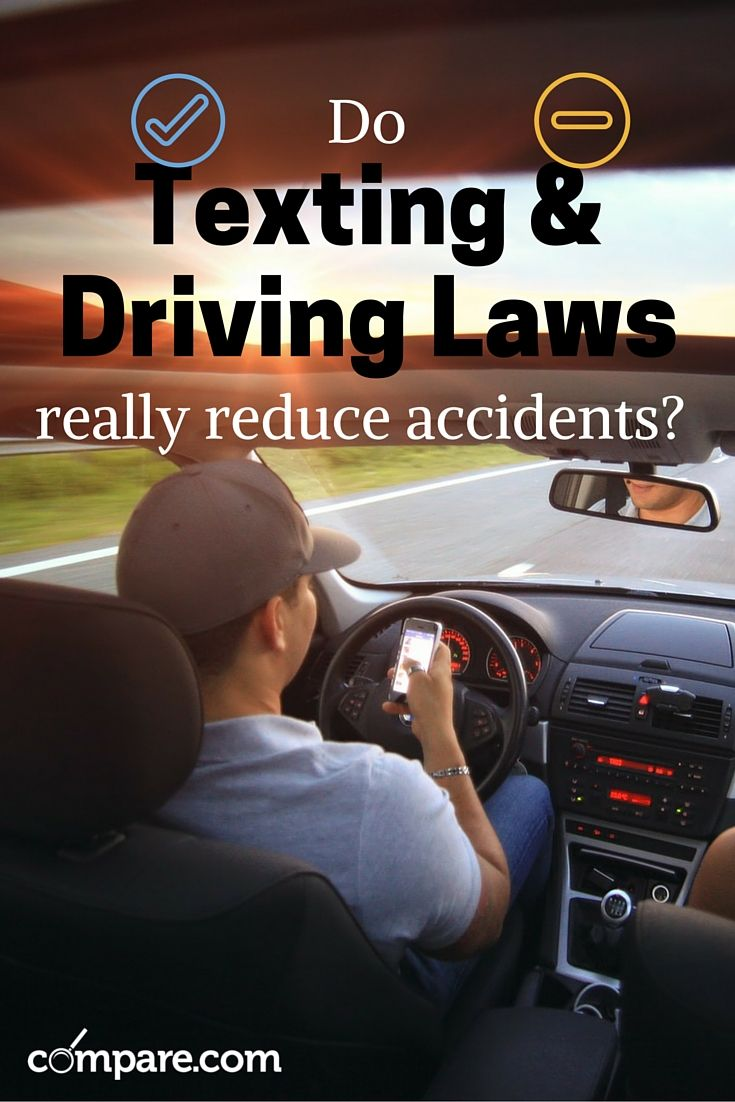 All but 4 states have laws prohibiting texting and driving. But do these laws really help to reduce accidents? Find the answer here: http://www.compare.com/auto-insurance/news/texting-and-driving-laws.aspx?utm_source=pinterest&utm_medium=socialmedia&utm_campaign=textingdriving
