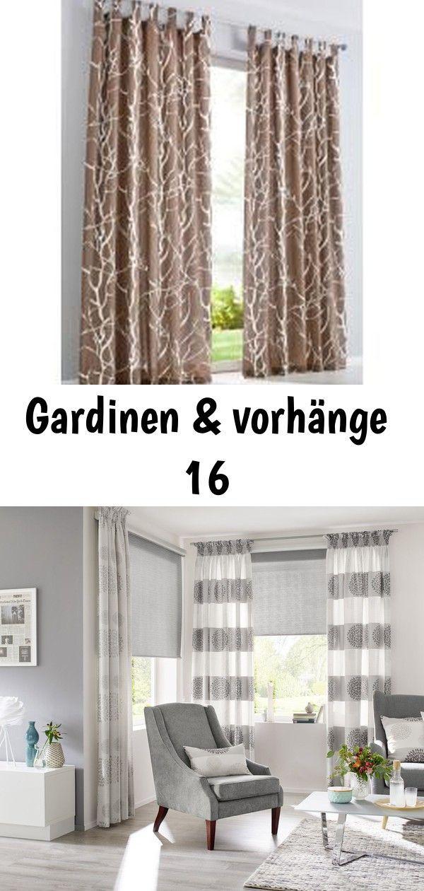 Gardinen Vorhange Vorhang Roya 1er Pack In Braun Von Bonprix