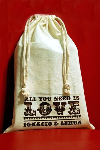 fill with chocolate gold coins, to give that gold rush vibe & can personalize the bag to fit theme