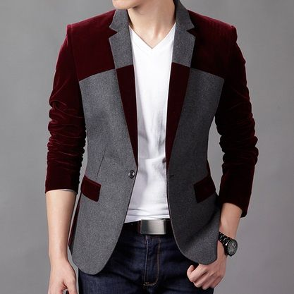 Men's Velvet Blazer http://www.theprincefashion.com/blazer-and-suits.html