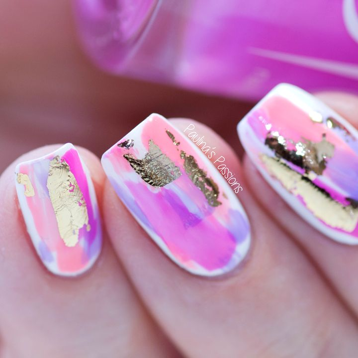 Easy No Tool Nail Art Abstract Strokes With Images Abstract