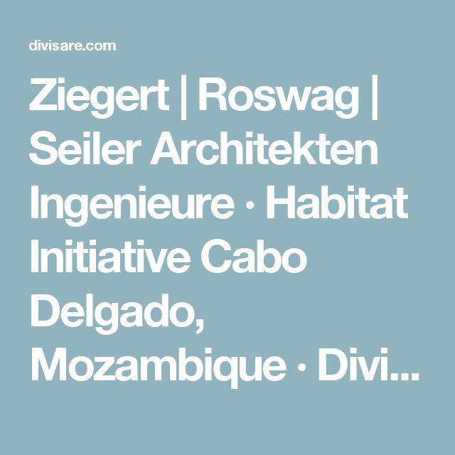 Ziegert | Roswag | Seiler  Architekten Ingenieure · Habitat Initiative Cabo Delgado, Mozambique · Divisare