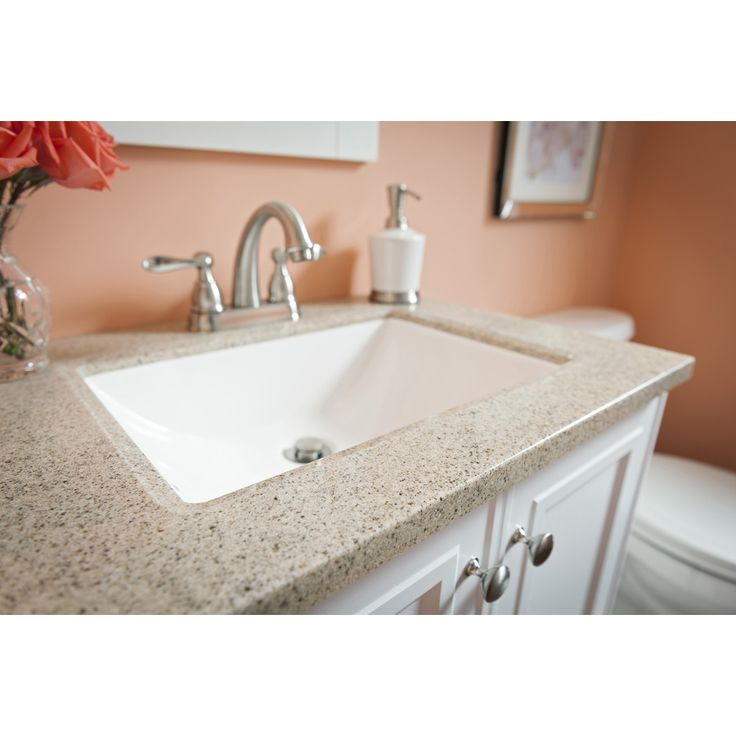bathroom sink stores shop style selections emberlin white integral single sink 11425