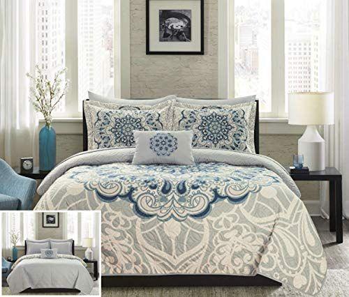 4750f7814780441b0a19ae938575bf61 - Better Homes And Gardens Indigo Paisley Comforter Set