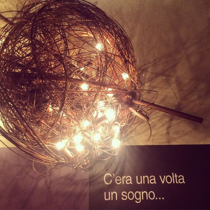 Once upon a time someone was dreaming #milandesignweek #lighting #tortona #fuorisalone #design