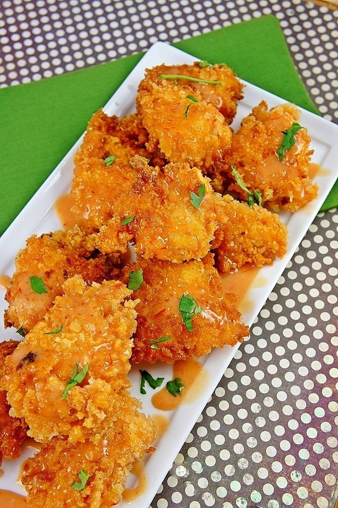 Crispy Bang Bang Chicken