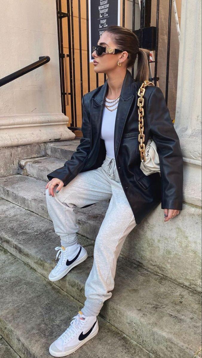 Nike blazers outfit, Blazer outfits