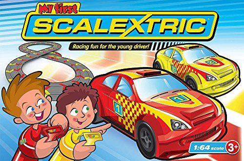 Micro Scalextric 1:64 Scale My First Racing Set Micro Scalextric http://www.amazon.co.uk/dp/B00KXWZCW6/ref=cm_sw_r_pi_dp_DGVCub1FFH86W