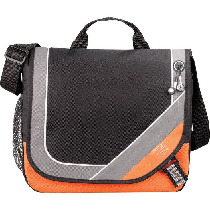 Leeds Orange Bolt Urban Messenger Bag #corporategifts