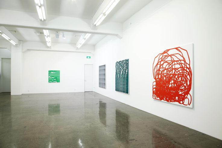 Simon Ingram, Radio Painting at Gow Langsford Gallery, 2011