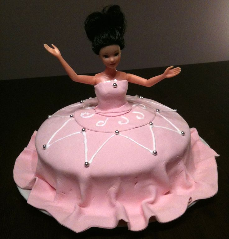 Gateau anniversaire Barbie 2