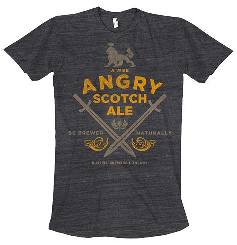 Russell Angry Scotch Ale Tshirt