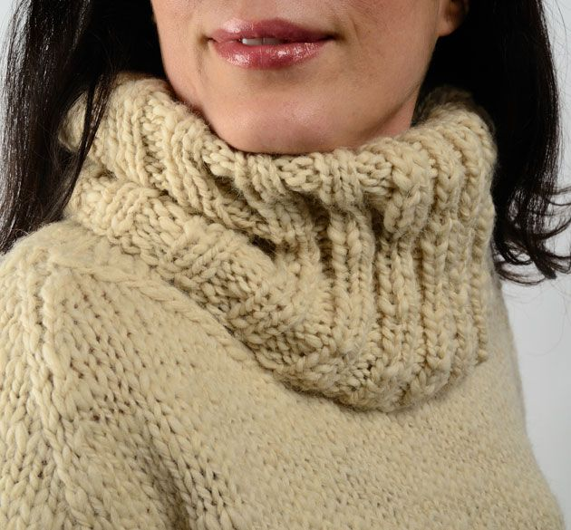 Americo Original / Kootenay Collar - simple to knit with a beautiful texture!