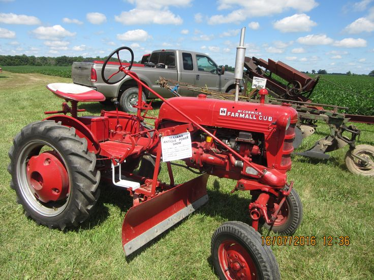 Antique Ih Cub Tractor : The best farmall tractors ideas on pinterest