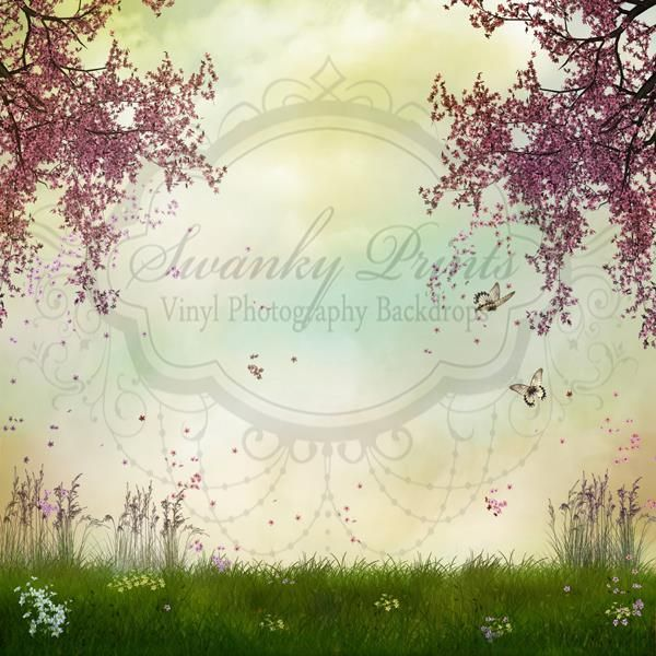 Spring Trees - Oz Backdrops and Props