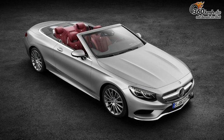 Die Mercedes S-Klasse Cabrio
