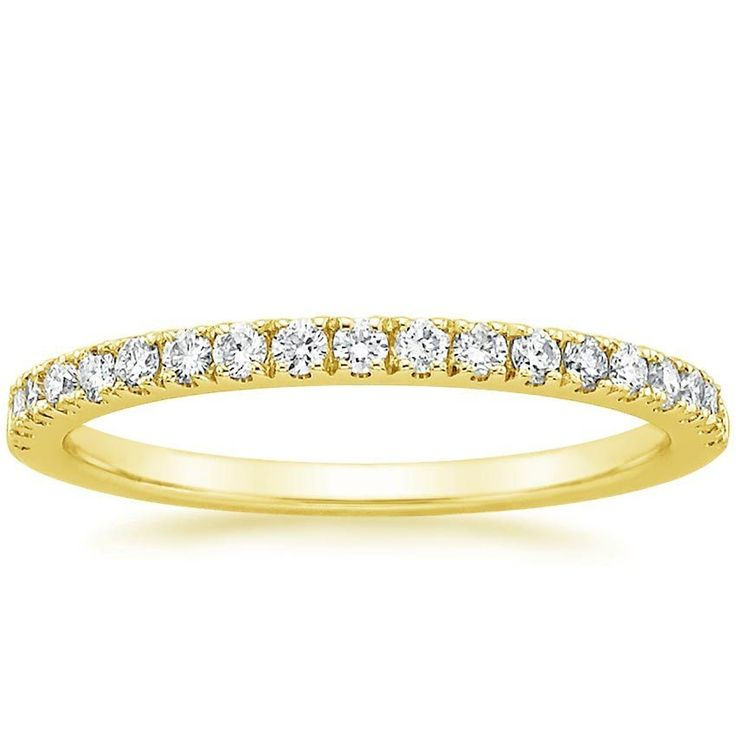 18K Yellow Gold Bliss Diamond Ring (1/4 ct. tw.) from Brilliant Earth