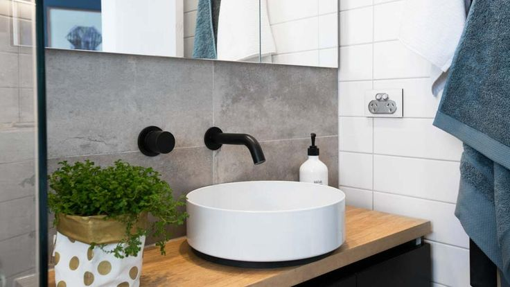 Arkitek grey and sati white tiles